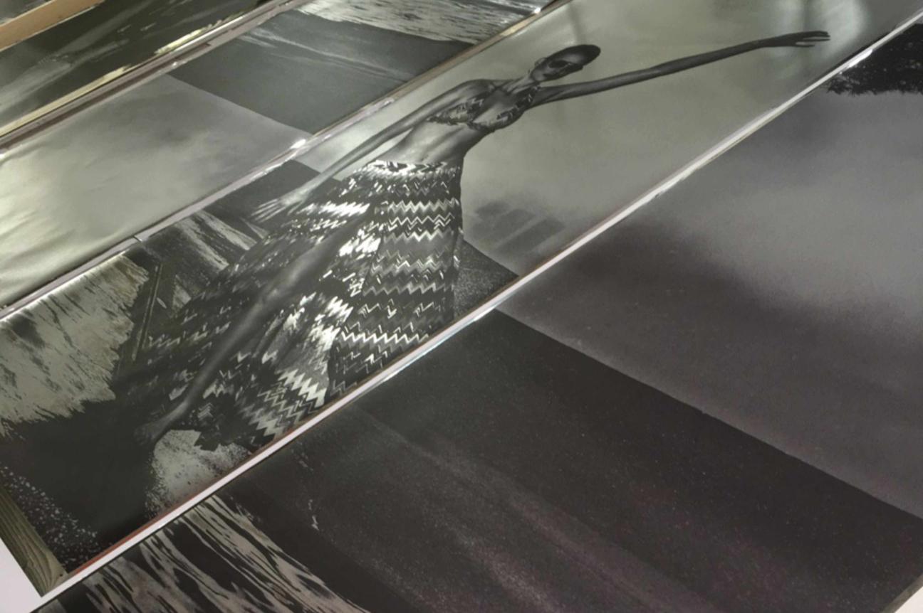 Digitaldruck auf Spiegelfolienbedruckung